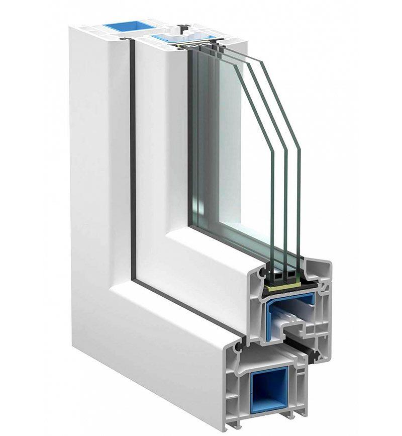 Пластиковое окно ПВХ SATELS SOFTLINE и фурнитура ROTO NT от компании obsada.pro. Изготовить на заказ от производителя, монтаж - установка. Любой регион.