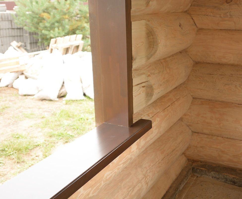 Изготовление и установка подоконников из массива ценных пород дерева | Компания OBSADA.PRO +7 (499) 938 92 29