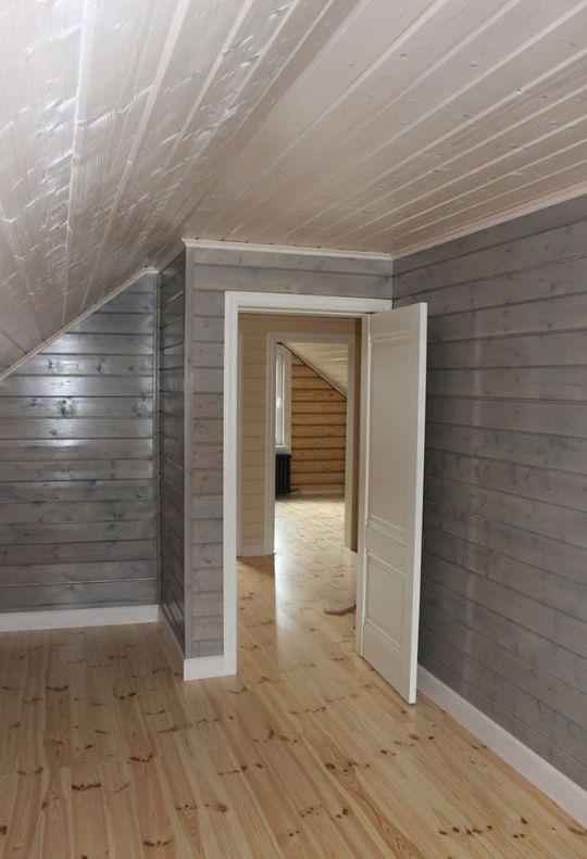 Покраска деревянного дома или сруба из бруса, бревна, лафета внутри и снаружи от компании obsada.pro. Любой регион.
