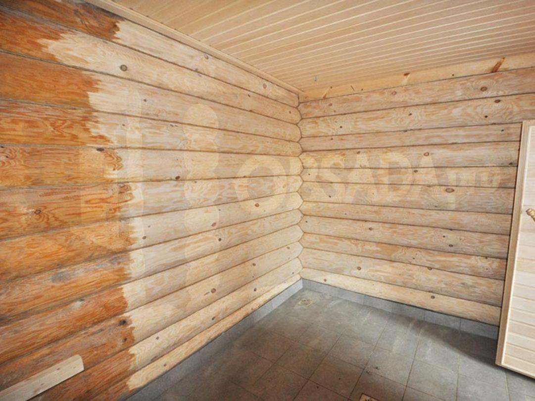 Шлифовка дома, бани, бруса, бревна, деревянного пола, деревянных стен
