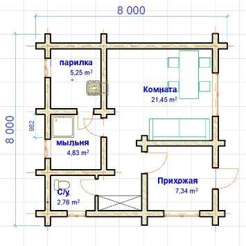 Сруб из бруса | srub-zima.ru +7 (499) 938 92 32