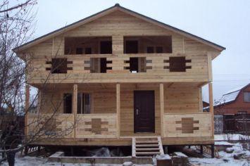 дом из бруса | srub-zima.ru +7 (499) 938 92 32
