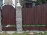 забор с калиткой