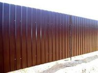забор обычный