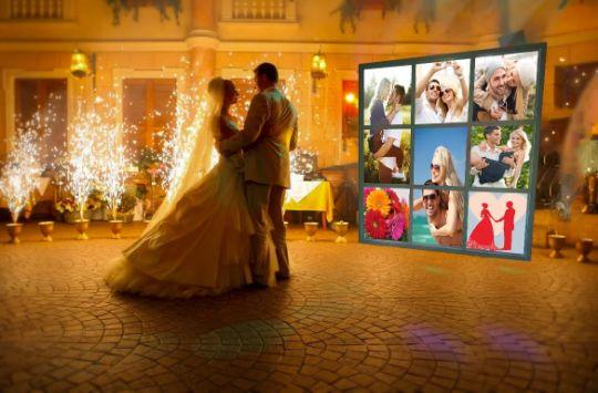 Лайт Волл, Пресс волл с подсветкой на свадьбе, описание