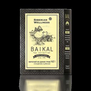 картинка Фиточай из диких трав № 1 (Очищение и дренаж) - Baikal Tea Collection