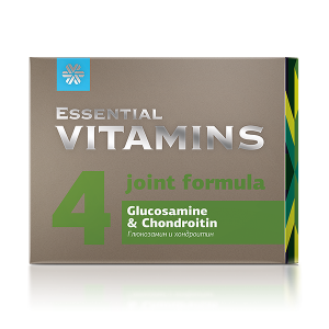 картинка Глюкозамин и хондроитин - Essential Vitamins