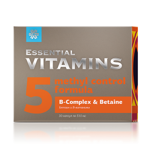 картинка Бетаин и В-витамины - Essential Vitamins