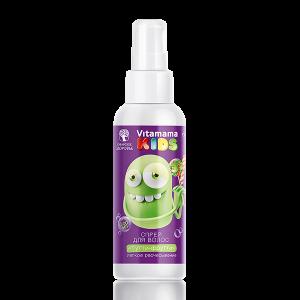 картинка Спрей для волос «Тутти-Фрутти» (легкое расчесывание) - Vitamama KIDS