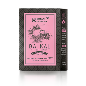 картинка Фиточай из диких трав № 7 (Легкость движений) - Baikal Tea Collection