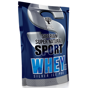 картинка Сывороточный протеин Silver Ice Whey (натуральное какао) - Siberian Super Natural Sport  от магазина Одежда+