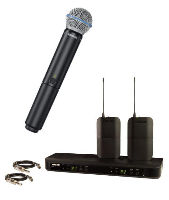 Shure BLX радиомикрофонная система