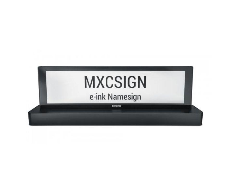 Именная табличка MXCSIGN Shure