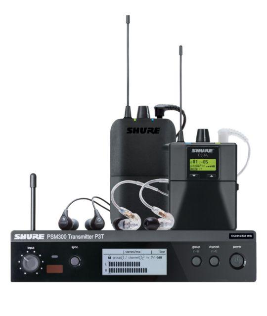 shure PSM300 PSM900 PSM1000 мониторинговая радиосистема