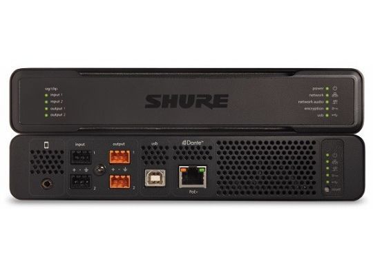 ПРОЦЕССОР ДЛА АУДИОКОНФЕРЕНЦИЙ SHURE INTELLIMIX P300