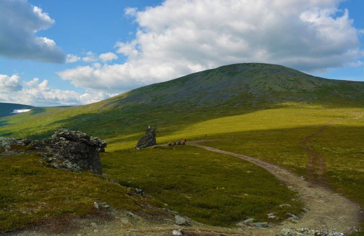 Пеший поход на перевал Дятлова и гору Отортен