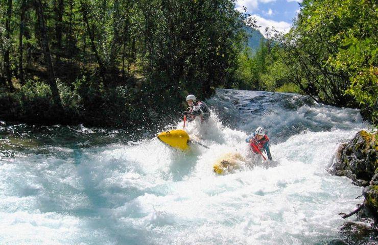 Спортивный сплав по рекам Жомболок и Урик