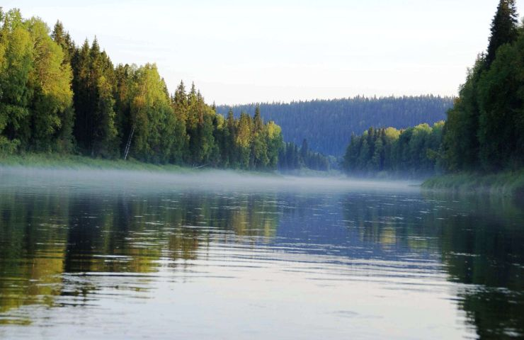 Сплав из Екатеринбурга по реке Реж на катамаранах