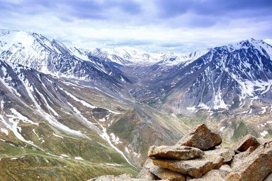 Пеший поход в горы Тянь-Шань