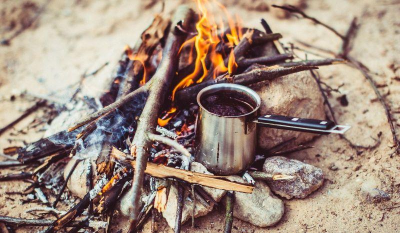 Завтрак в походе