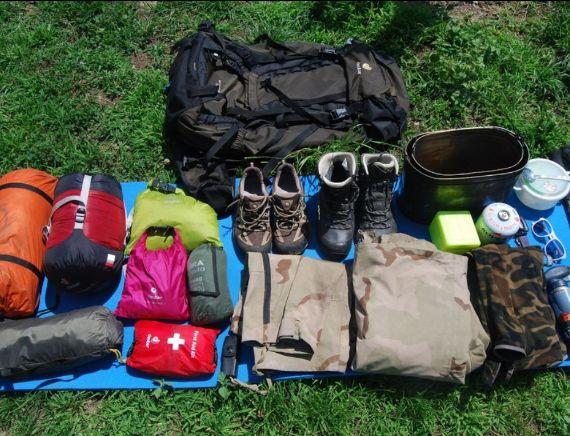 Снаряжение для летних походов