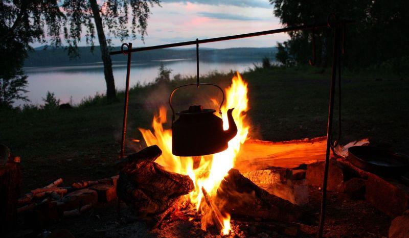 Ужин в походе