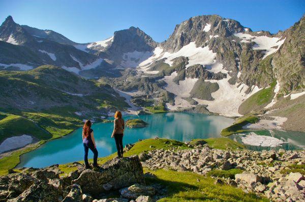 Пеший поход на Имеретинские озера, Кавказ
