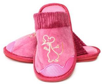 картинка Домашние Тапочки Розовый Рай от магазина Одежда+