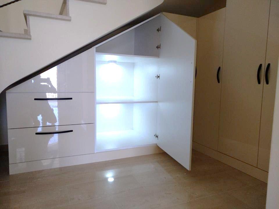 Мебель Кипр. Шкафы под лестницу.