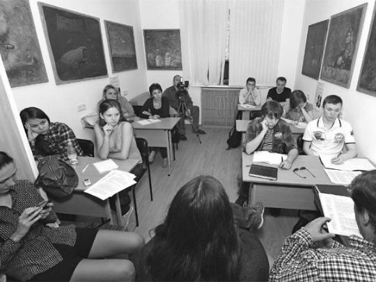 Воскресная студия литературных курсов, весна 2014 г.