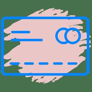 Иконка долги по кредиту или кредитной карте