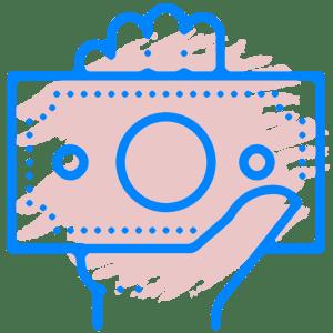 Иконка долги микрофинансовым организациям