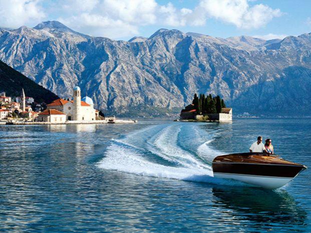 Яхта Черногория