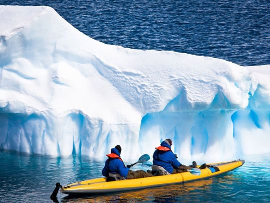 Антарктида на байдарках
