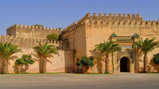 Королевский дворец в Мекнесе