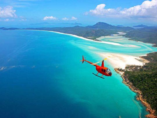 Аренда вертолета в Австралии
