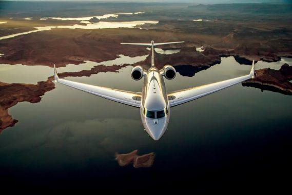 Средние частные самолеты бизнес авиации