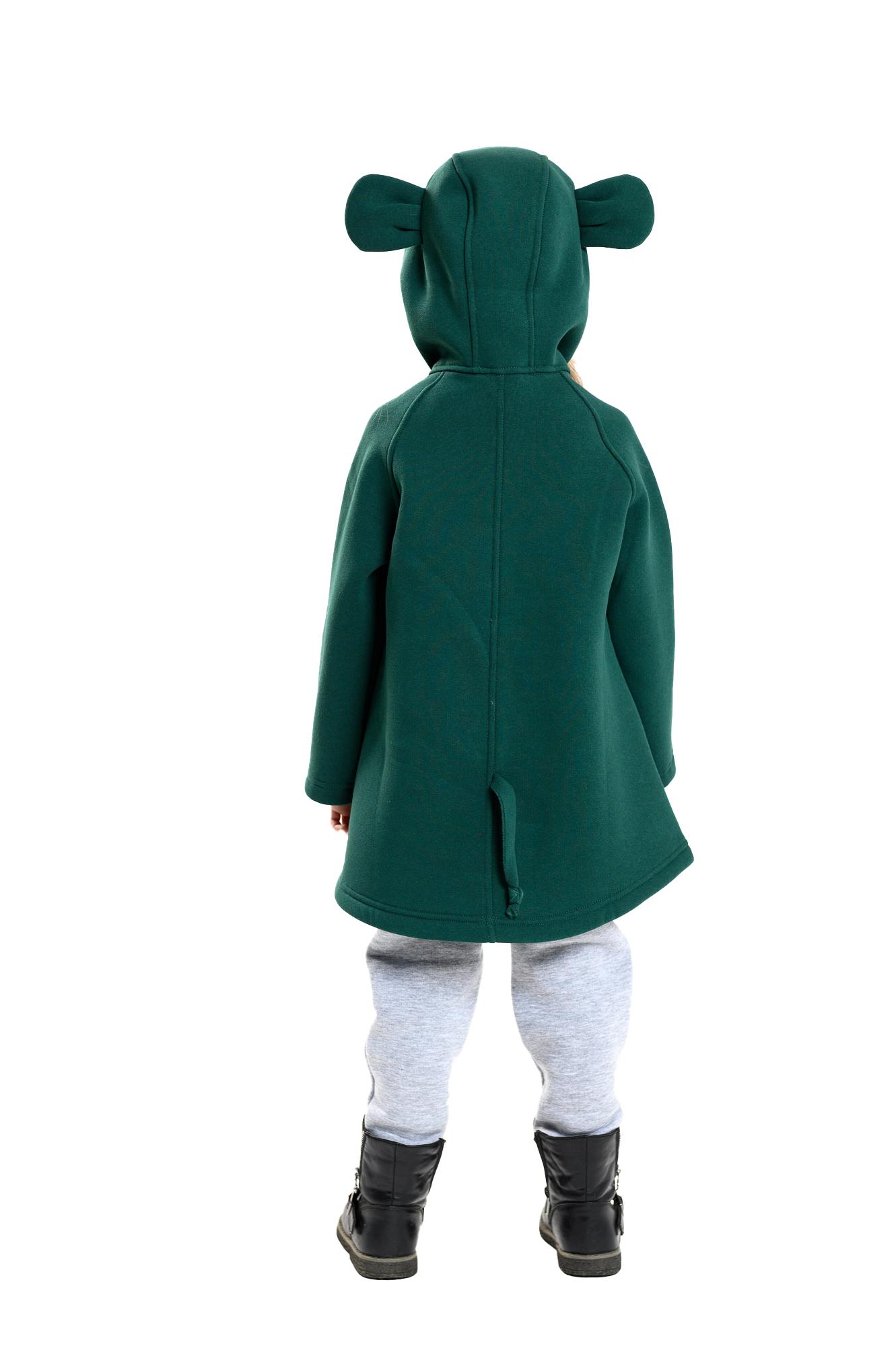 """506001, Пальто для девочки """"мышка"""" от магазина Lemive"""