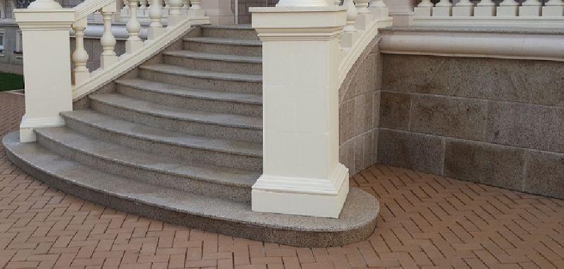 Облицовка цоколей, ступеней и фасадов гранитом