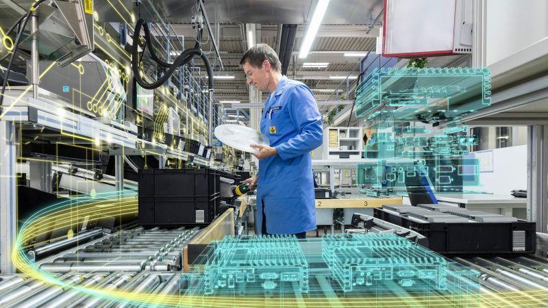 Цифровой завод Сименс