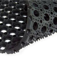 Ячеистые грязезащитные резиновые ковры