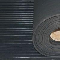 Резиновое напольное рифлёное резиновое покрытие