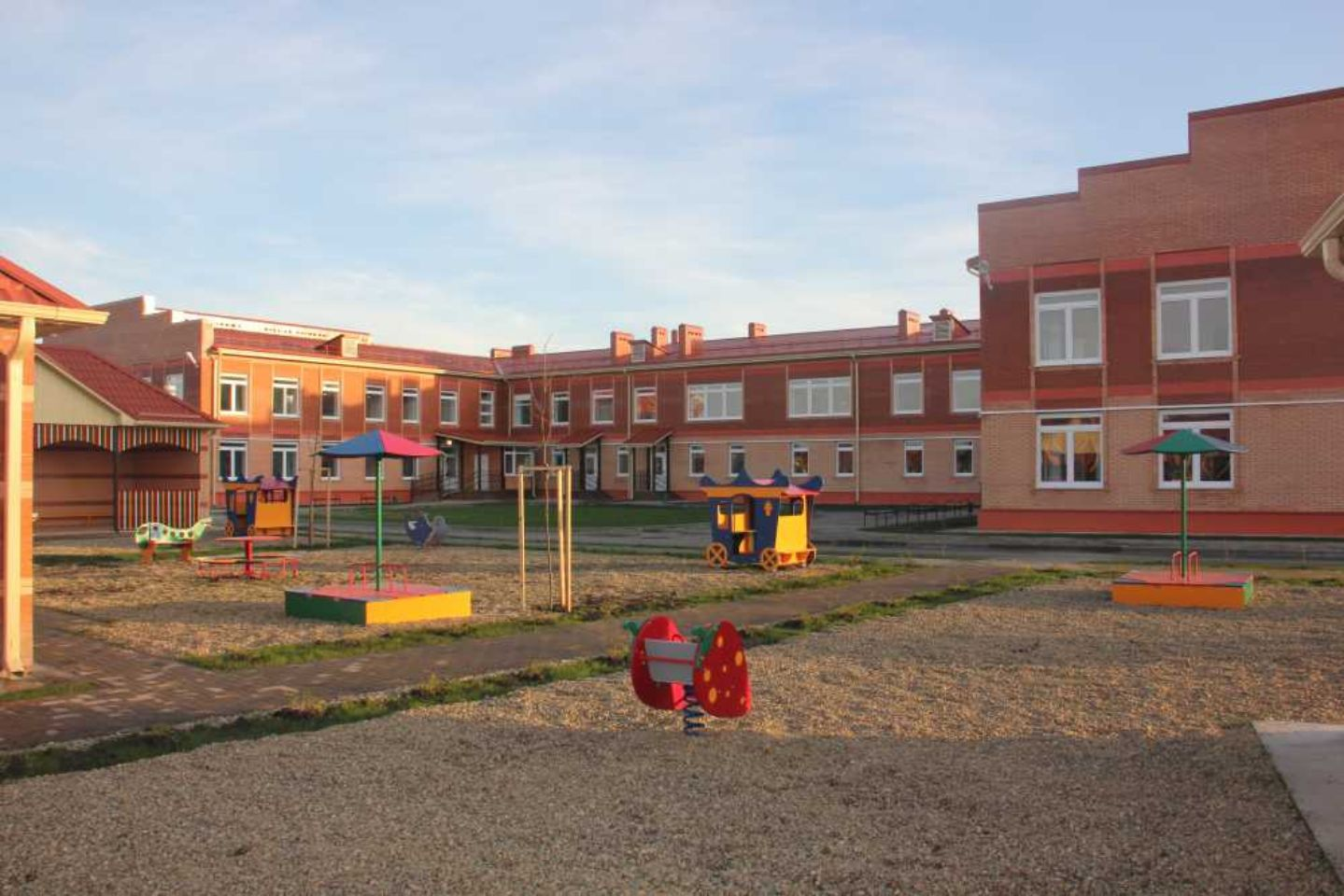 Строительство детского сада № 15 на 320 мест в г. Славянске-на-Кубани