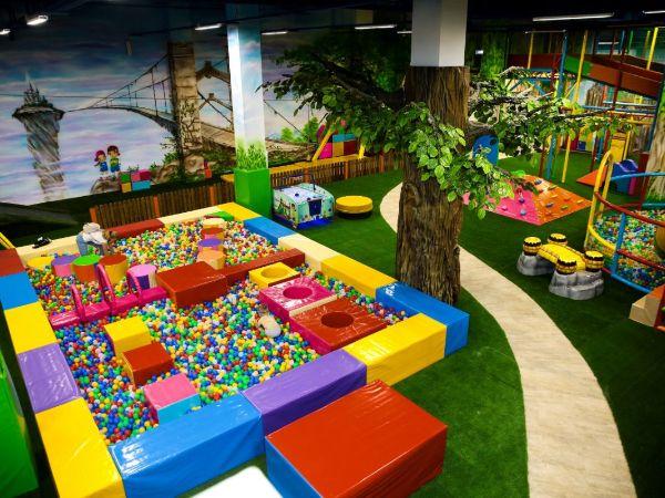 лучшие игровые комплексы для развлекательного детского центра