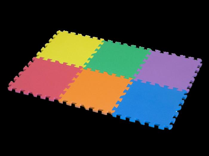 мягкое напольное травмозащитное покрытие пазл плитки для для деткой комнаты