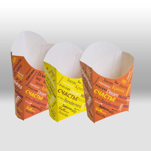 Бумажная упаковка для картофеля фри Fiesta