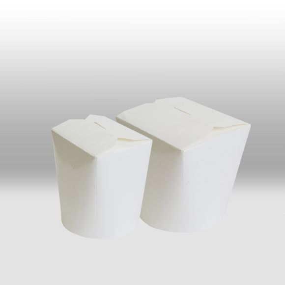 Бумажный чайна-бокс