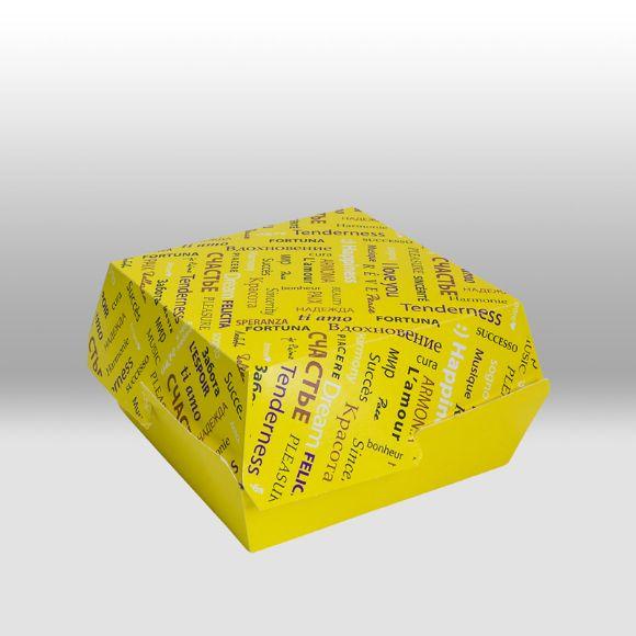 Бумажная упаковка для бургеров/наггетсов Fiesta