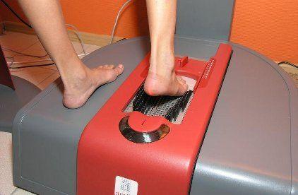 Сканирование стопы