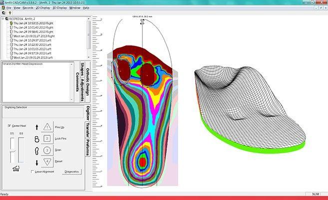 3D моделирование стельки
